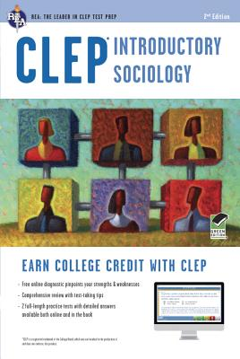 Clep Introductory Sociology W/Online Practice Tests By Egelman, William